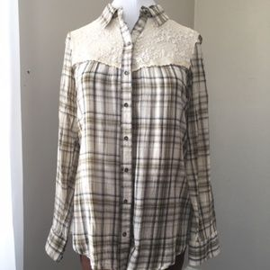 Soft and light Button-down by Free People!